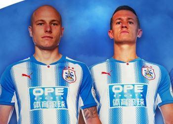 huddersfield shirt ad